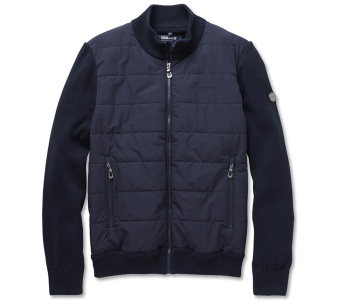 Sebago Paddy knit jacket Navy
