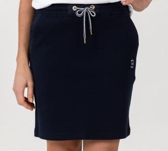 Sebago Pique Sweat Skirt Navy
