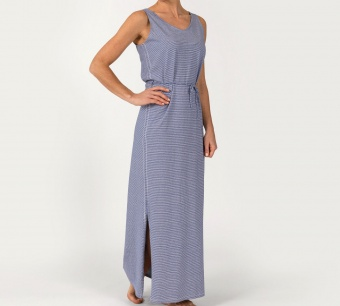 Sebago Linen Jersey Maxi Dress