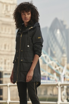 Barbour International Whouse Black/Gold
