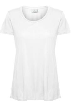 Kaffe Anna O-neck T-shirt White
