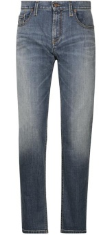Alberto Slipe Vintage Denim Blue