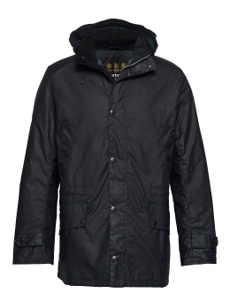 Barbour Gailey Wax Jacket - Navy