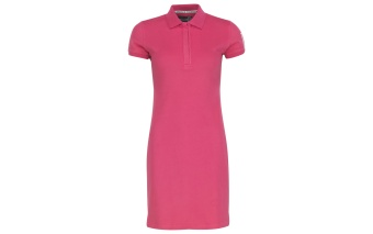 Pelle P Team Polo Dress Magenta