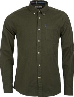 Barbour Herringbone 1 Tailored - Forest