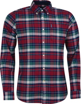 Barbour Highland Check 18 Tailored - Red