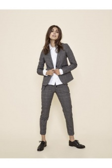 MosMosh Blake Holly Blazer Grey Check