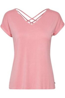 Cream Adriana T-shirt Sea Pink