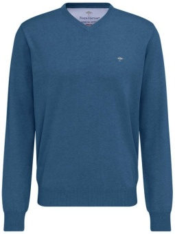 Fynch Hatton V-Neck Azure