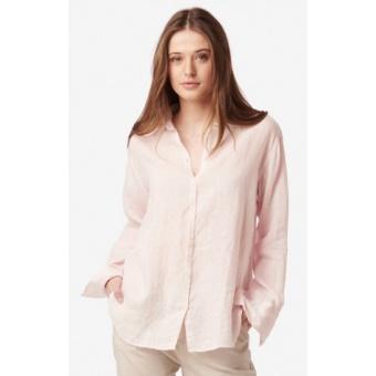 Boomerang Linn Linen Shirt Chalk Pink