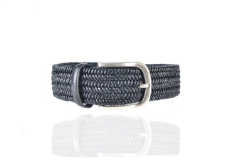 Athison Leather Belt Black S