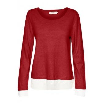 Cream Lavalin Pullover