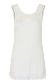 Cream florence top White