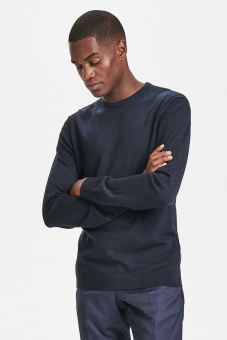 Matinique Margrate Merino Dark Navy