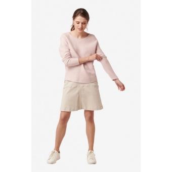 Boomerang Knopp Sweater Dusty Rose