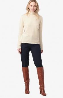 Boomerang Edit Polo Sweater Offwhite