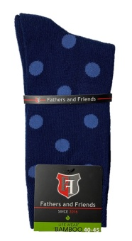 Fathers & Friends Dots Bamboo 40-45