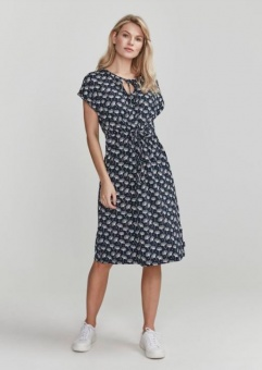 Holebrook Fiona Dress Navy/Ginko