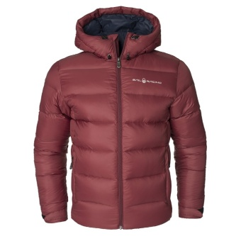 Sail Racing Gravity Down Jacket Burgundy Red
