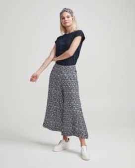 Holebrook Bianca Culotte White/Navy