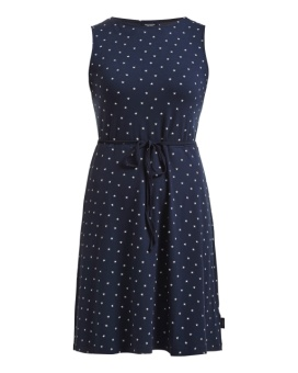 Holebrook Bianca Dress Navy/White