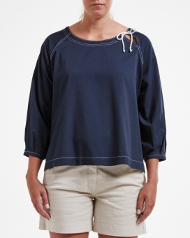 Holebrook Denise Blouse Navy