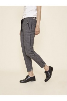 MosMosh Levon Holly Pant Grey Check