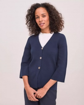 Newhouse Leonor Cardigan Navy