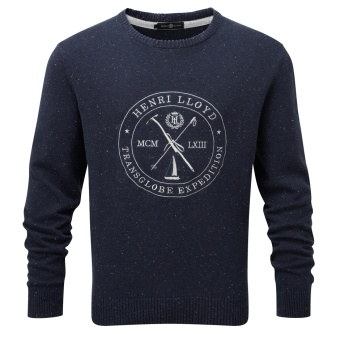 Henri Lloyd Mains Regular Crew Neck blå