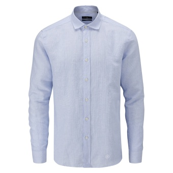 Henri Lloyd Oban Linen Stripe Regular Shirt