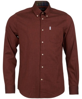 Barbour Lambton Shirt - Russet Brown