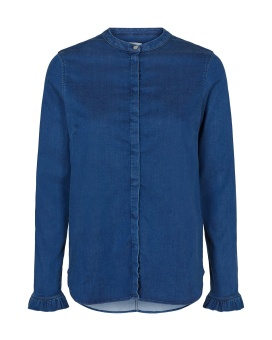 Mosmosh Mattie Denim Shirt Blue