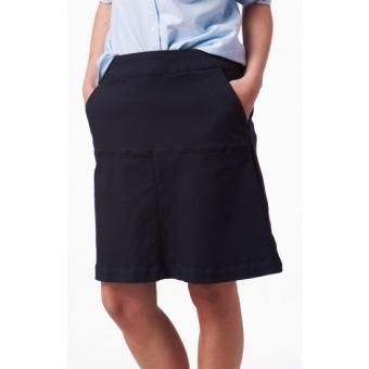 Boomerang Mei Chino Skirt Navy