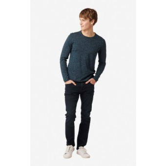 Boomerang Oliver Roll Edge O-neck Sweater