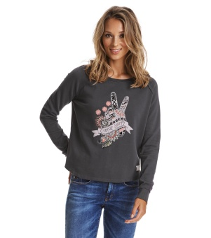 Odd Molly Happy Print Sweater