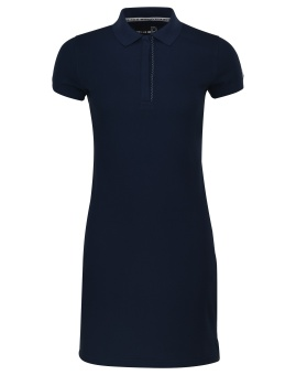 Pelle P Team Polo Dress Dk Navy Royal