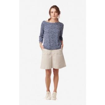 Boomerang Mei Chino Skirt Putty