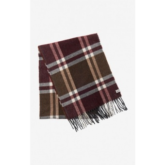 Boomerang Chandler Checked Wool Scarf
