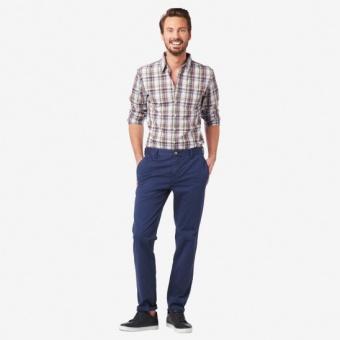Boomerang TA fit CC Madras check shirt