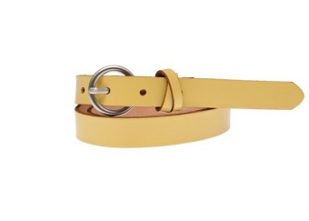 Saddler Belt Gult