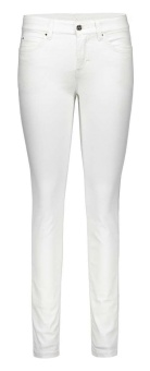 Mac Skinny white denim