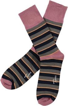 Topeco Sock mönstrad, bambu