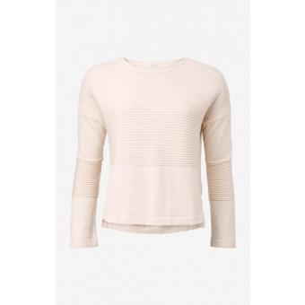 Boomerang Whitch O-neck sweater pannacotta