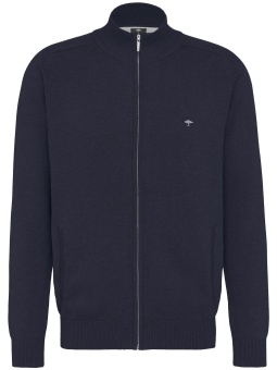 Fynch Hatton Cardigan Zip Navy