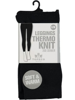 Topeco Leggings Solid, Thermo 200 denier