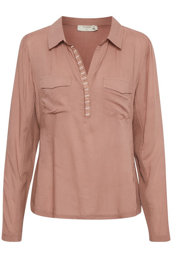 Cream Hally Shirt Old Rose