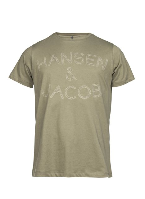 Hansen&Jacob Mr Jacob Logo Tee