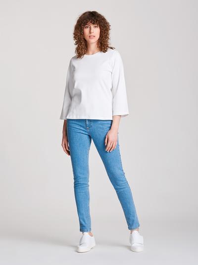 Nanso T-Shirt Blokki Vit
