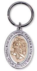 Never drive faster than your angels can fly, metall ca 5cm