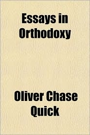 Essays in Orthodoxy